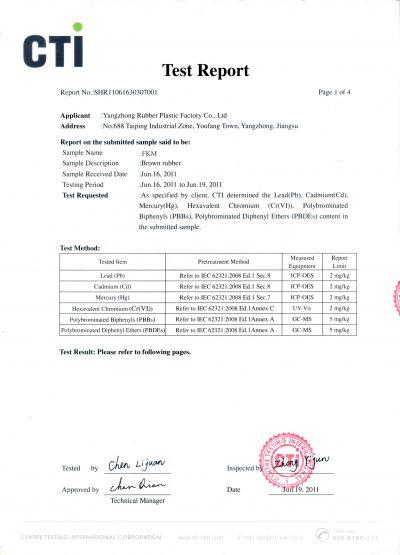 CTI Test Report